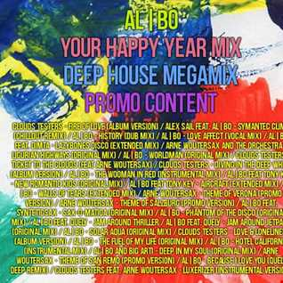 al l bo - Your Happy Year Mix (nu-disco megamix, PROMO)