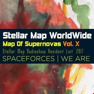 Stellar Map WorldWide - Map Of Supernovas Vol. X SPACEFORCES (Speedmix by Sairtech)