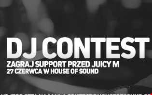 Dj Luketus pres. Mix for DJ CONTEST [House of Sound] || Juicy M.