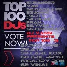 dj Vassi Presents top 100DJ's 3
