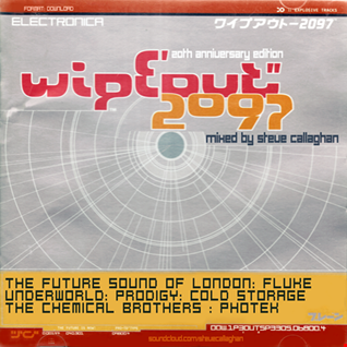 "WIPE'OUT"" 2097 [1996] - [20th Anniversary Edition] [Mixed by Steve Callaghan]"