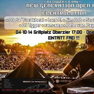 Dj-Tigger @ NEW GENERATION - OPEN AIR 04-10-2014