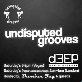 2nd May 2015 - Undisputed Grooves on d3ep radio -  Damien Jay's funky house guest mix edition