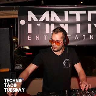 Damien Jay feat Violin Girl Recorded Live @ Techno Taco Tuesday on 13th October 2015