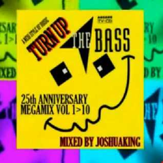 TURN UP THE BASS 25th Anniversary Megamix