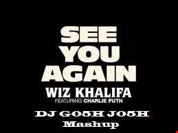 "Wiz Khalfia Ft. Charlie Puth ""See You Again"" DJ G05H J05H official mashup"