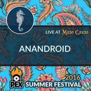 anandroid at PEX Summer Fest 2016 | Friday night at Meso Creso
