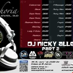 Euphoria Level 3.0  UK Special Round Part 2 (Dj Nicky Allen)