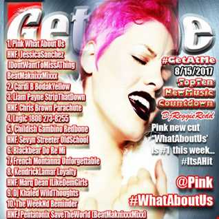 GetAtMe TopTenCountdown ft Pink WhatAboutUs 8 15 2017