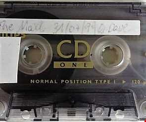 live Cassette from The Maxx Afterclub from 31 07 1999