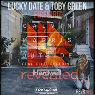 LUCKY DATE & TOBY GREEN X HARDWELL - FIREBIRD FROM OUTSIDE ( FREAKYBALL'S DEEJAYS MASH )
