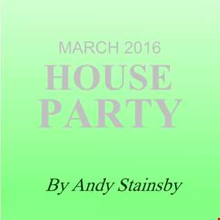 March 2016 House Party