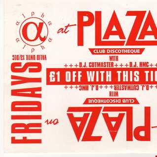 DJ HMC  The Plaza 16th July 1993
