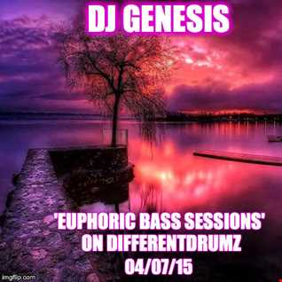DJ Genesis 'Euphoric Bass Sessions' (100% Music) on Differentdrumz 04 07 15