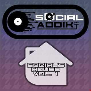 Social Addikt - Social's House Vol.1.mp3 (74 mins) [Deep Tech Vocal Underground House]