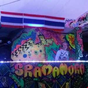 DJ X Stasi Sramanora Waterfall Party Koh Phangan  15.01.15