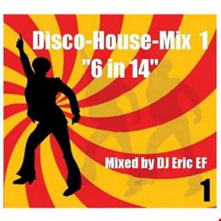 "Disco-House-Mix  (Part 1)  - ""6  in 14"""