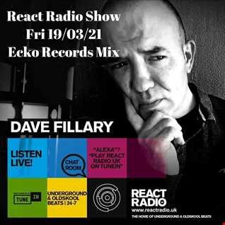 React Radio Show 19 03 21 (Ecko Records Mix)