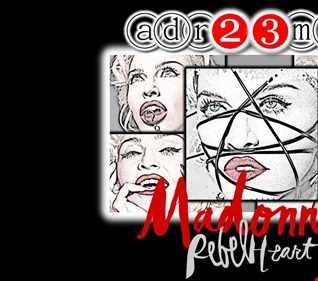 MADONNA - Unreleased & Rebel Heart TRIBUTE CLUB MIX UNO (adr23mix) Special DJs Editions