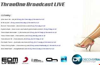ThreeOne Broadcast Live in Vocal Trance FM