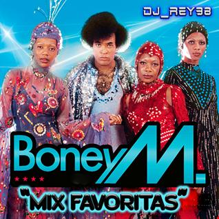 """BONEY M """"MIX FAVORITAS""""-DJ_REY98"""