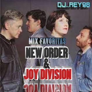 """""""NEW ORDER & JOY DIVISION"""" MIX FAVORITAS-DJ_REY98"""