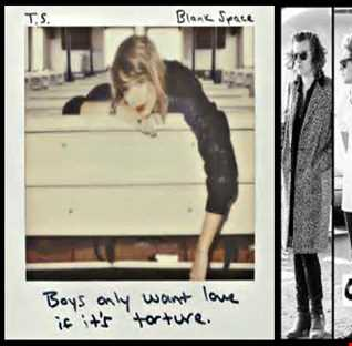 Blank Spaces Between Us - Taylor Swift: Blank Space vs. One Direction: Spaces