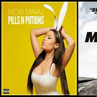 See Potions Again - Nicki Minaj: Pill 'N Potions vs. Wiz Khalifa ft. Charlie Puth: See You Again