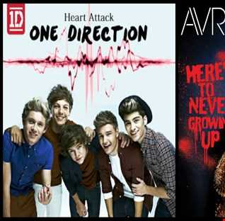 Here's To Never Having Heart Attacks - One Direction: Heart Attack vs. Avril Lavigne: Here's To Never Growing Up