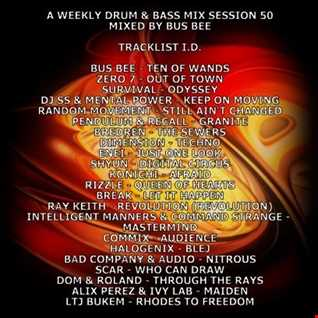 A Weekly Drum & Bass Mix Session 50