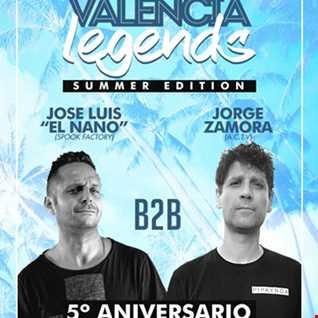 VALENCIA LEGENDS FESTIVAL   JORGE ZAMORA B2B JOSE LUIS EL NANO
