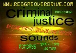 Criminal Justice Sounds Skanking Ska and Uptempo Reggae mix