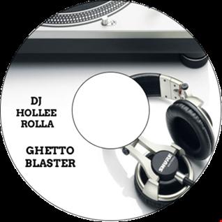 DJ Hollee Rolla ghetto blaster