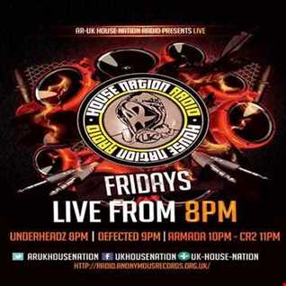 UnderHeadz - Live on AR:UK House Nation Radio - April 8th 2016