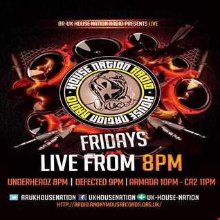UnderHeadz - Live on AR:UK House Nation Radio - March 4th 2016