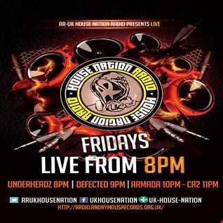 UnderHeadz - Live on AR:UK House Nation Radio - Jan 8th 2016