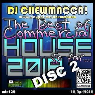 mix 121 - The Best of Commercial House 2018, So far... Disc 2