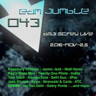 EDM Jumble 043 - Daji Screw live 2016-11-25