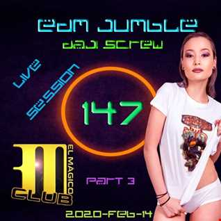 Daji Screw - EDM Jumble 147 (live 2020-02-14 Part III; the main party)