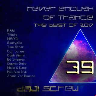 Never Enough of Trance episode 0039 - The Best of 2017