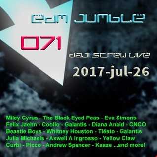 EDM Jumble 071 - Daji Screw live 2017-07-26
