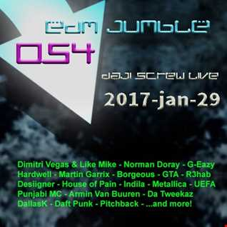 EDM Jumble 054 - Daji Screw live 2017-01-29