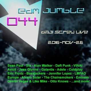 EDM Jumble 044 - Daji Screw live 2016-11-26