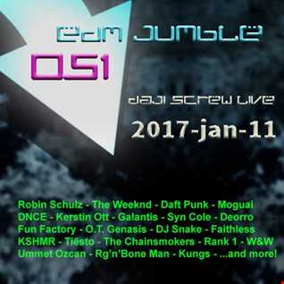 EDM Jumble 051 - Daji Screw live 2017-01-11