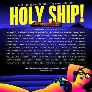 Holy Ship! 2016 Feb Cruise Tribute Mix
