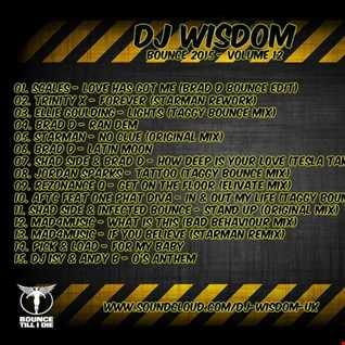 Dj Wisdom - Bounce 2015 - Vol.12 (13.11.2015)