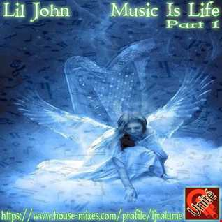 LJ Volume    Life Is Music   Pt 1 Deep House Bass Mix (In Memory Of My Mum)