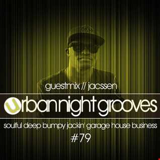 Urban Night Grooves 79 - Guestmix by Jacssen