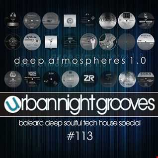 Urban Night Grooves 113 by S.W. - Deep Atmospheres 1.0
