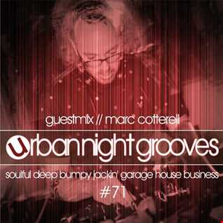Urban Night Grooves 71 - Guestmix by Marc Cotterell